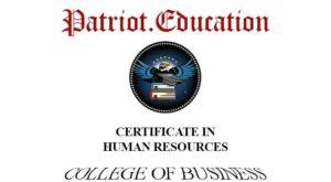 certificate-human-resouces