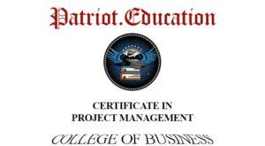 certificate-project-management